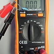 radio shack digital multimeter manual