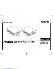 xantrex 3000 prowatt inverter manual