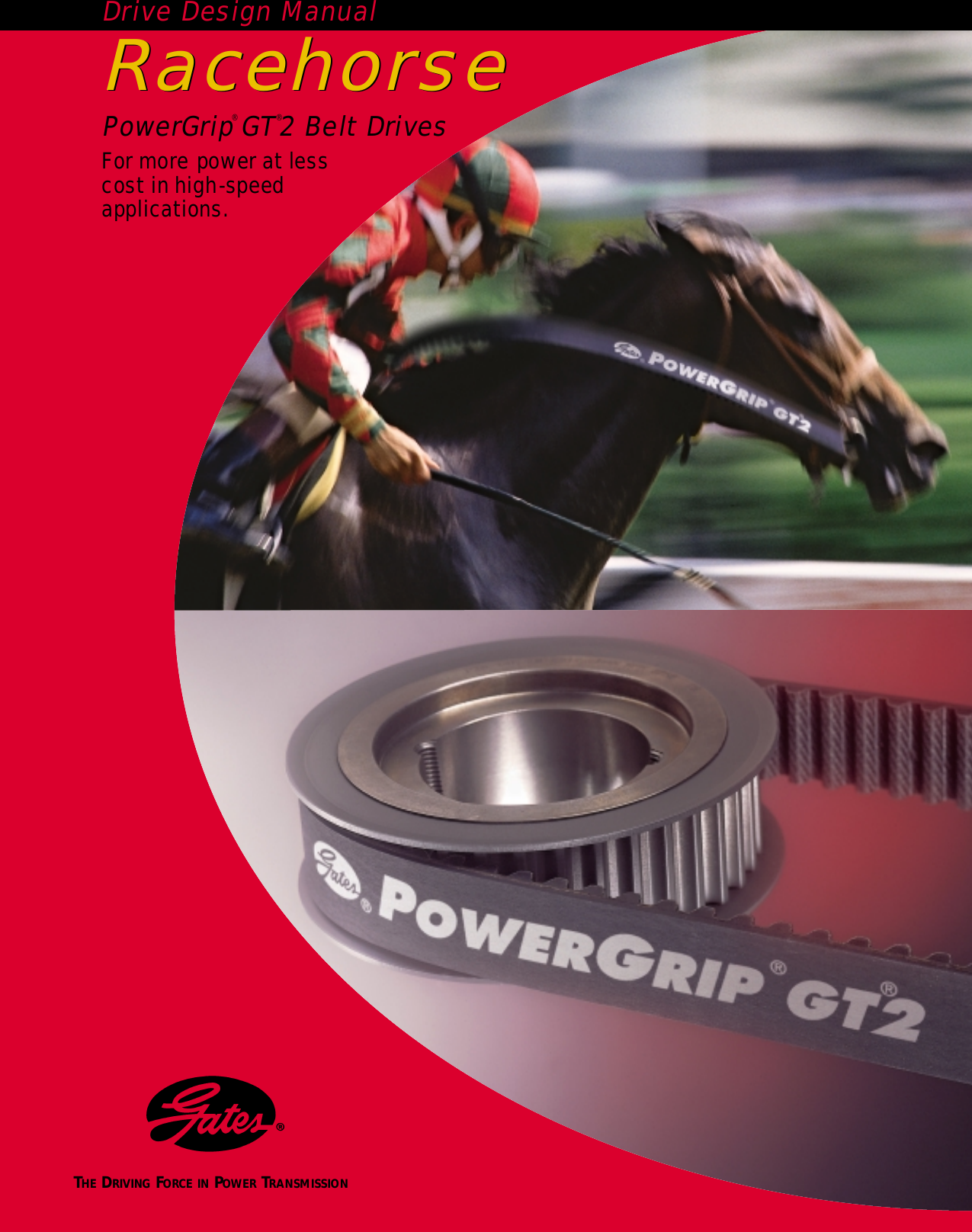 gates powergrip gt2 design manual