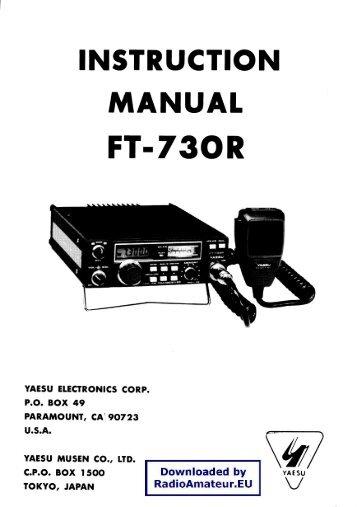 yaesu ft 747gx service manual
