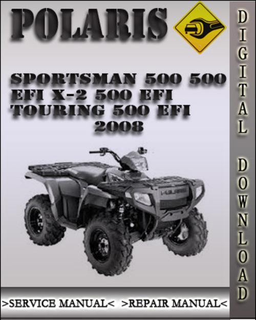 polaris sportsman 500 repair manual free