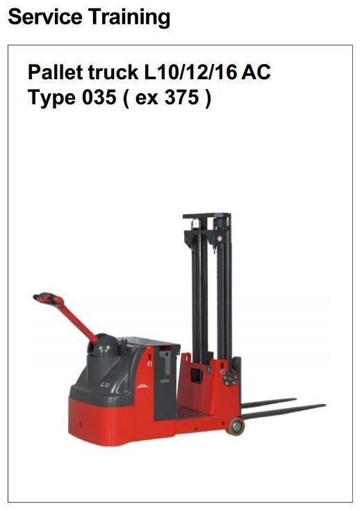 linde t20 pallet truck manual