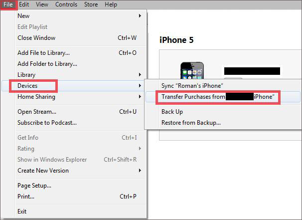 manually transfer music to iphone