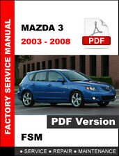 2008 mazda 3 repair manual