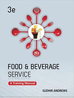 food and beverage training manual