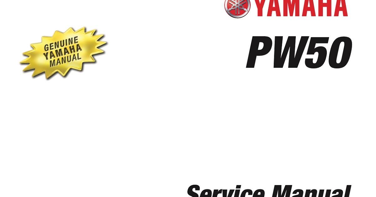 yamaha peewee 50 service manual