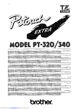 brother p touch pt 2730 manual