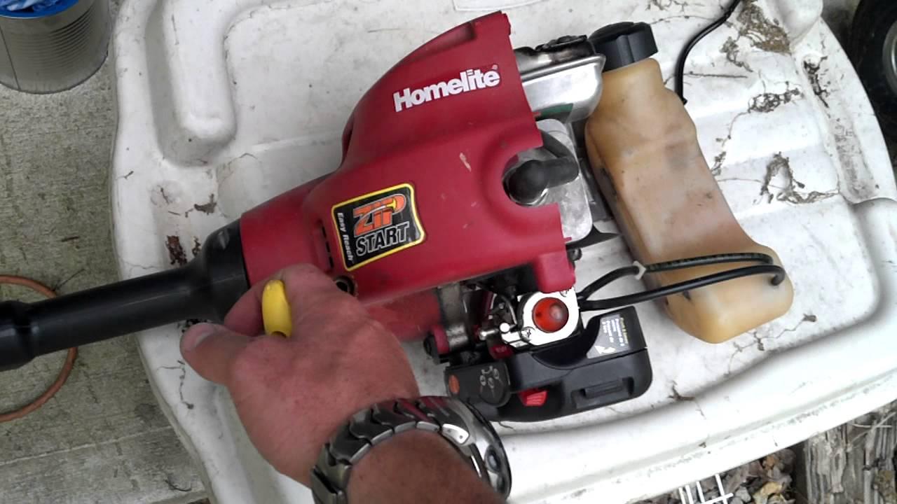 homelite 25cc petrol line trimmer manual