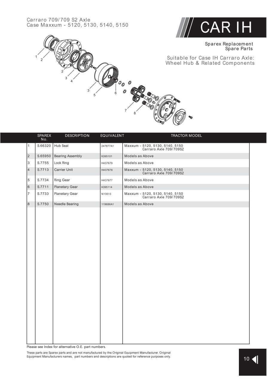 carraro tlb1 4wd transmission manual
