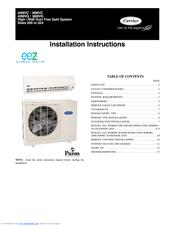 teco split system instruction manual