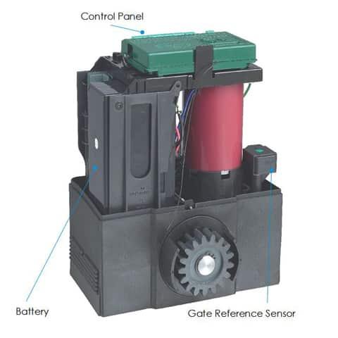 centurion gate motor manual override