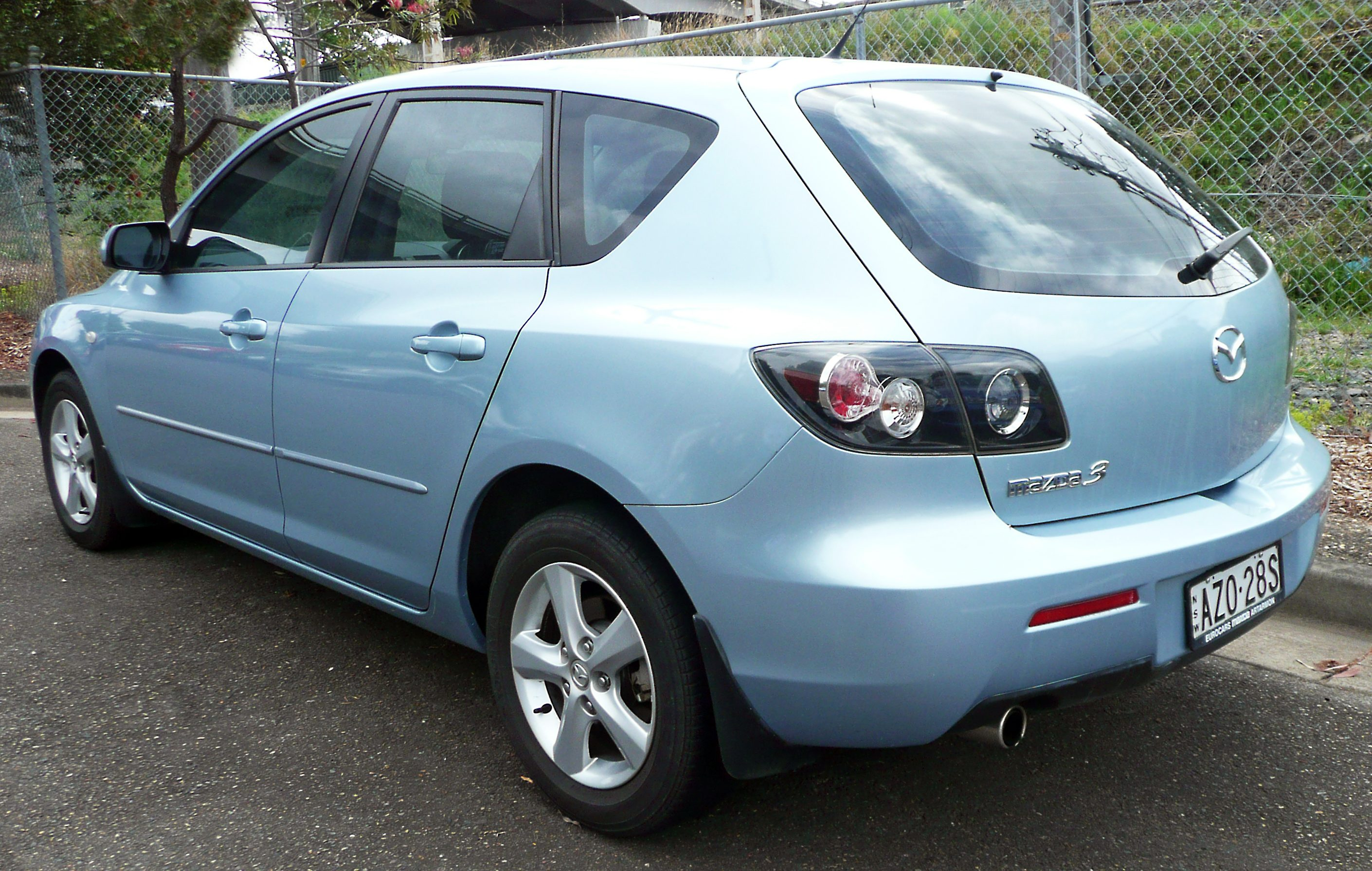 2008 mazda 3 neo bk series 2 manual