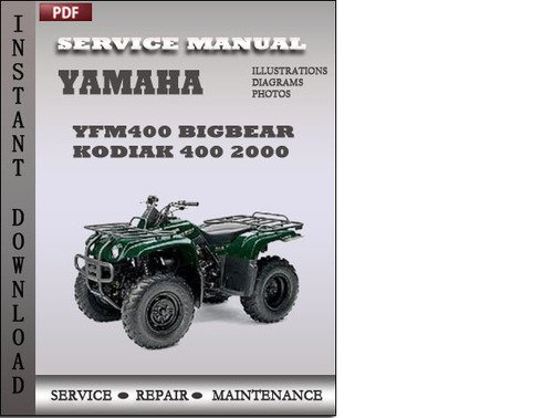 yamaha big bear 400 service manual