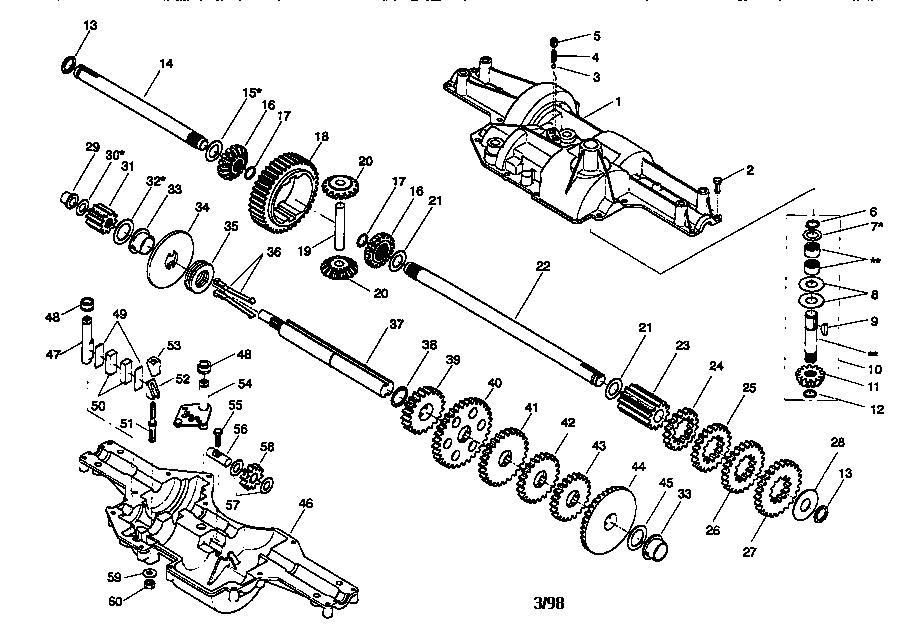 murray riding mower repair manual