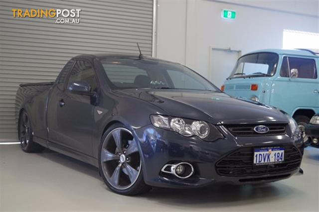 fg xr6 turbo ute manual