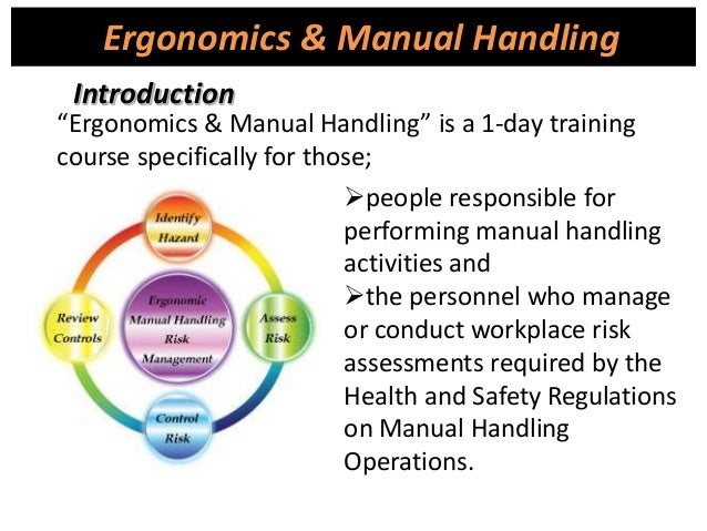 control measures for manual handling risks