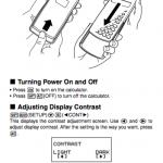 casio fx 991es user manual