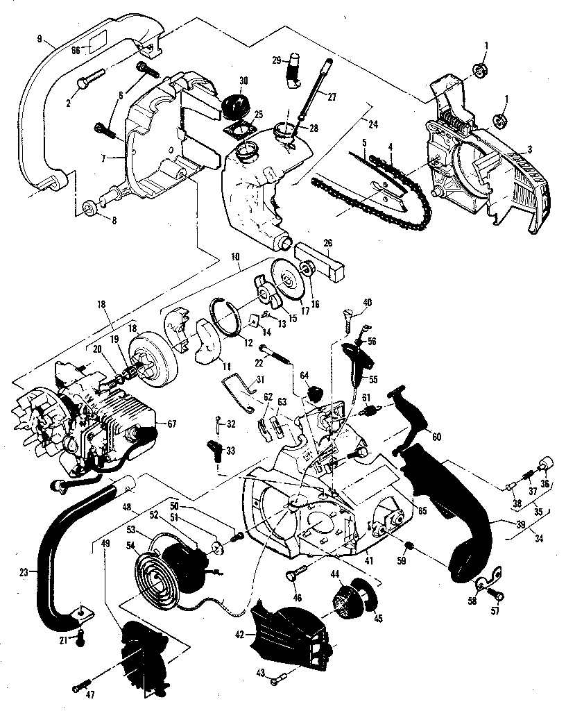 mcculloch mini mac 25 service manual