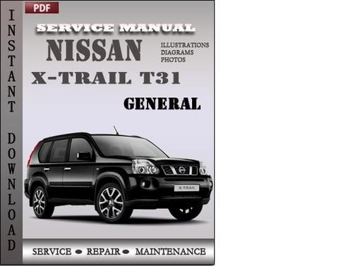 nissan x trail t31 service manual free download