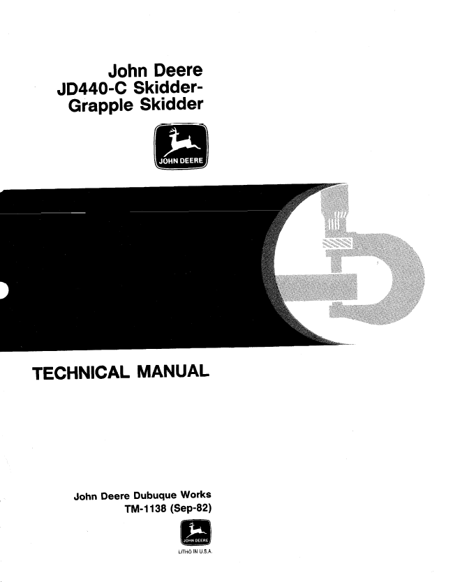 john deere 440c skidder service manual