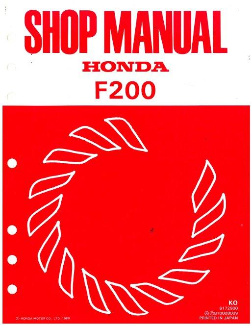 honda f220 tiller shop manual
