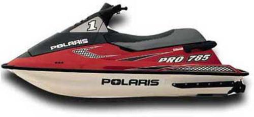 polaris jet ski repair manual