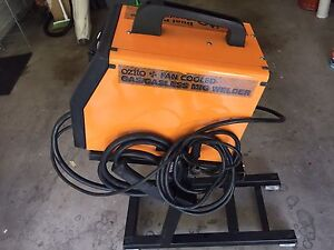 ozito gasless mig welder manual