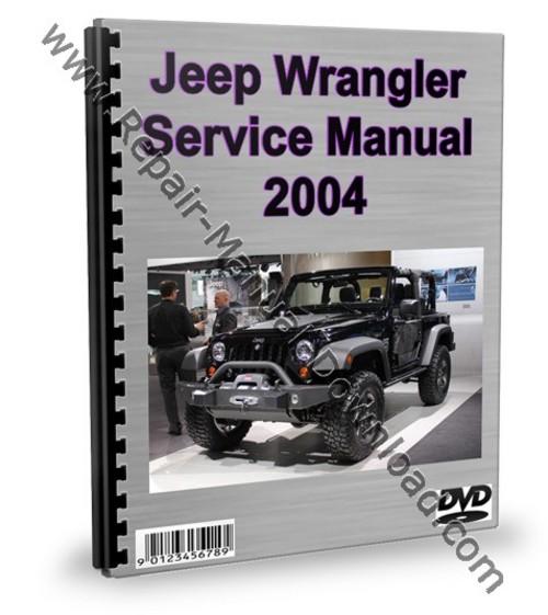 2008 jeep wrangler repair manual pdf