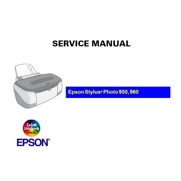 epson stylus photo 960 manual