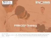 the prince2 foundation training manual