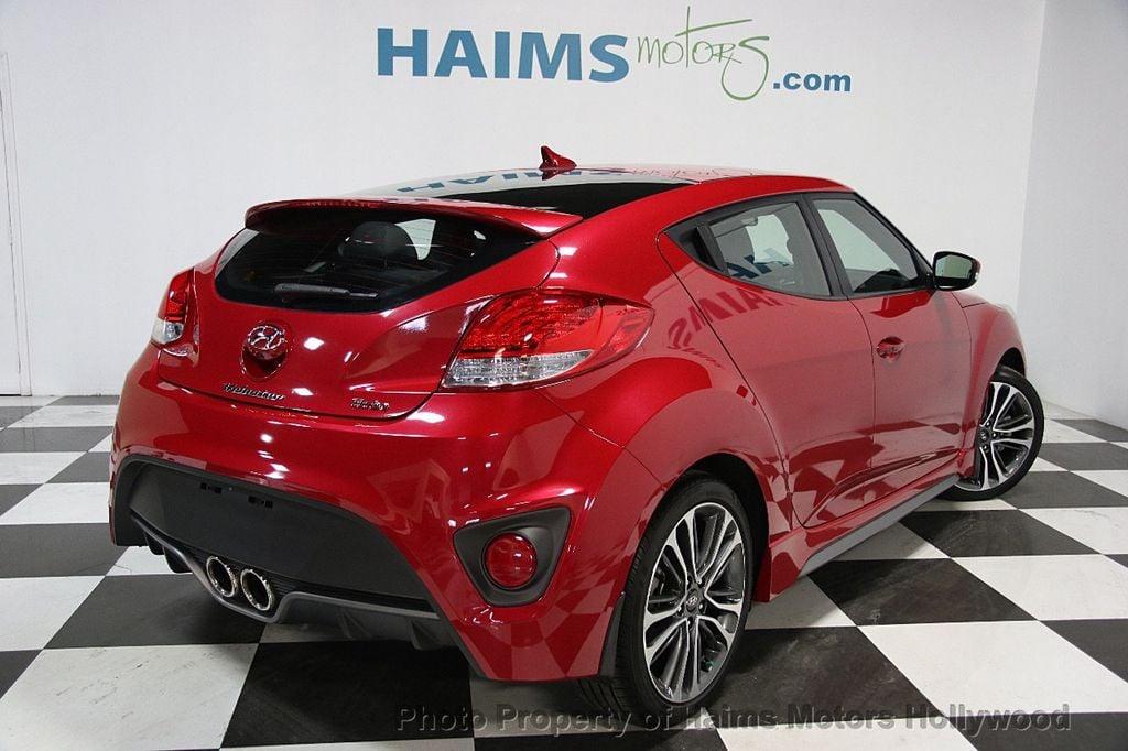 2016 hyundai veloster turbo manual hatchback