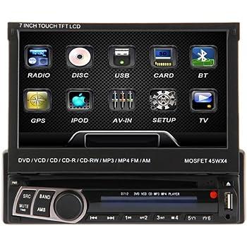 ouku 7 inch touchscreen dvd receiver manual