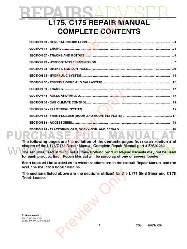 kubota l175 service manual pdf
