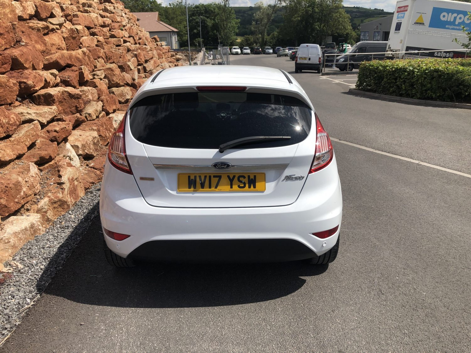2017 ford fiesta s manual hatchback