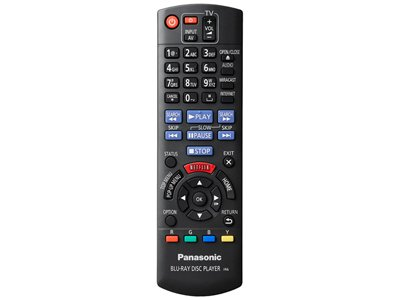panasonic ir6 remote control manual