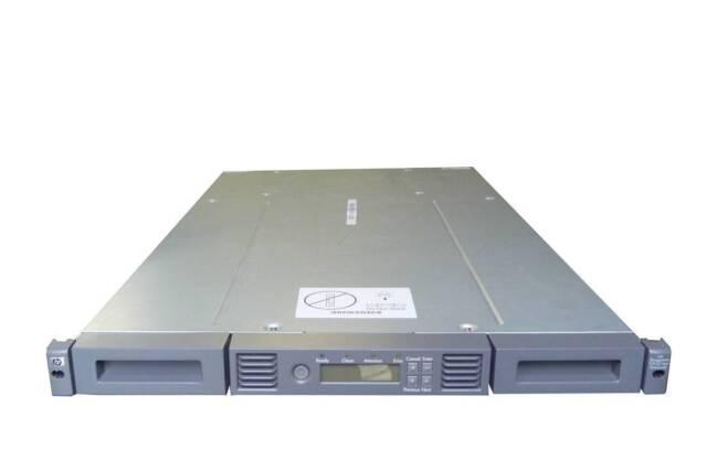 hp storageworks 1 8 g2 tape autoloader manual
