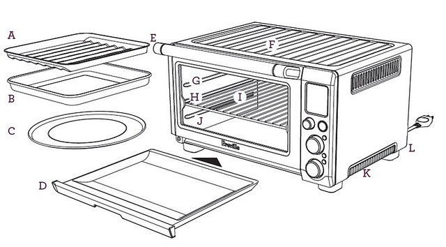 breville compact smart oven manual