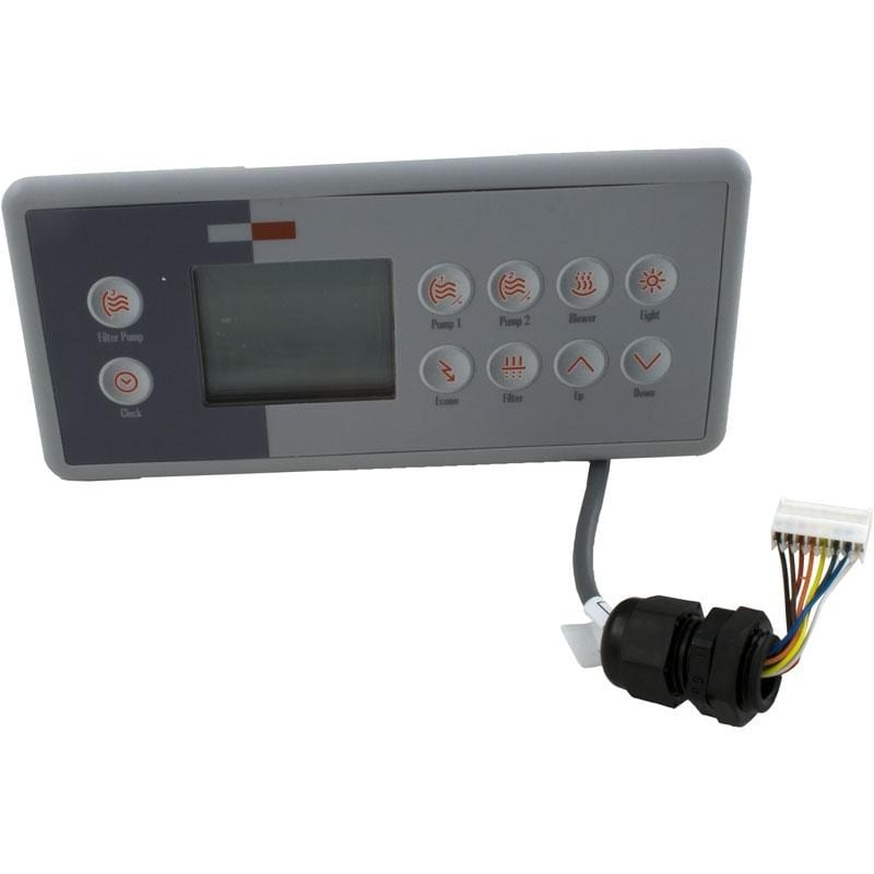 gecko hot tub control panel manual