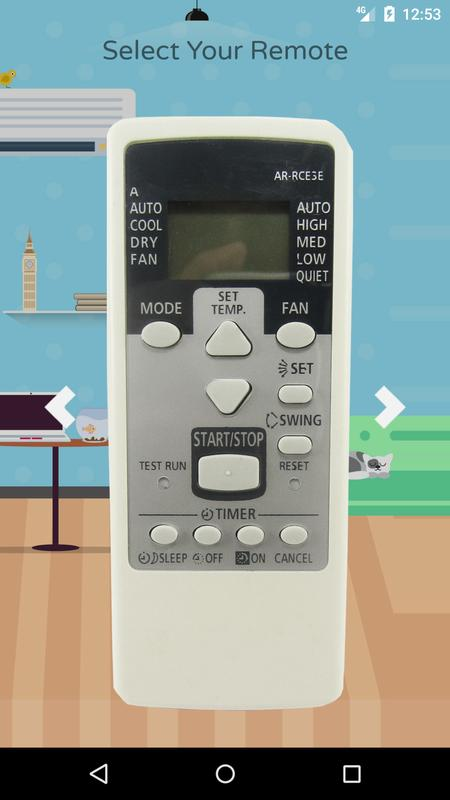 o general ac remote control manual