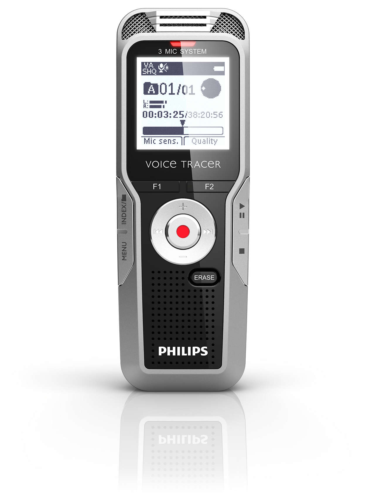philips voice tracer digital recorder user manual