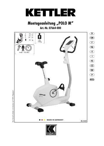 kettler rivo p instruction manual