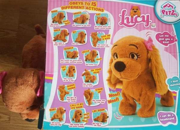 lucy the dog instruction manual
