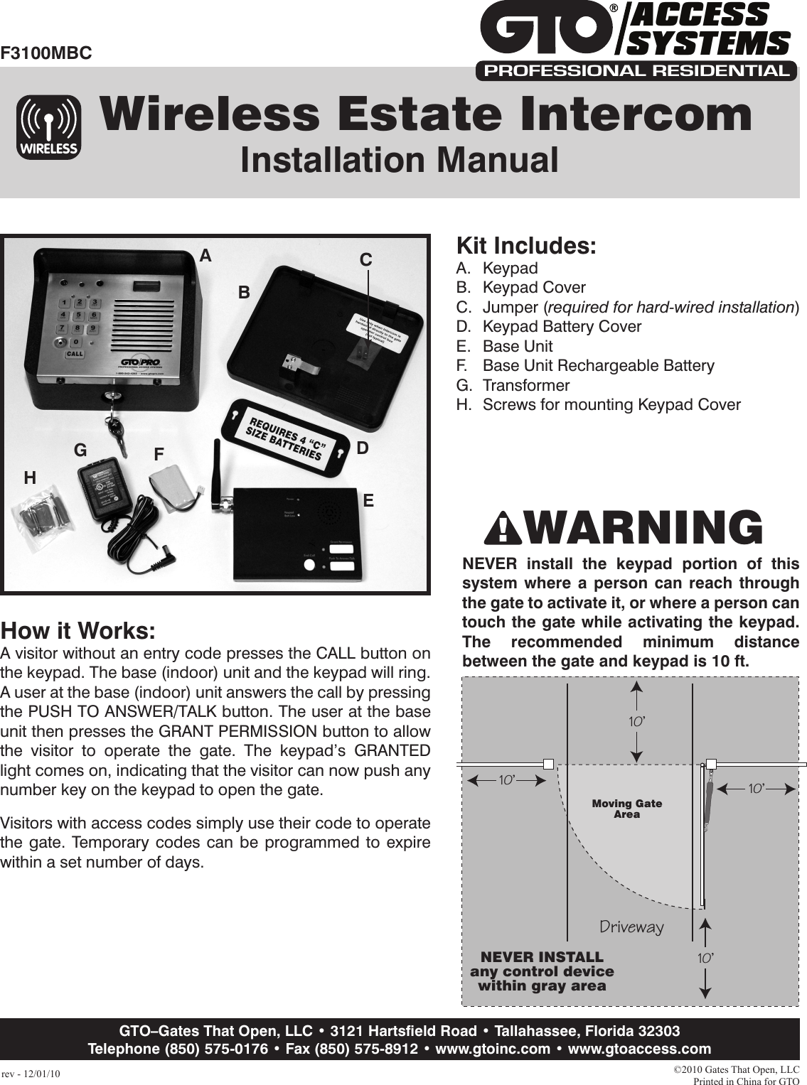 satechi wireless smart keypad user manual