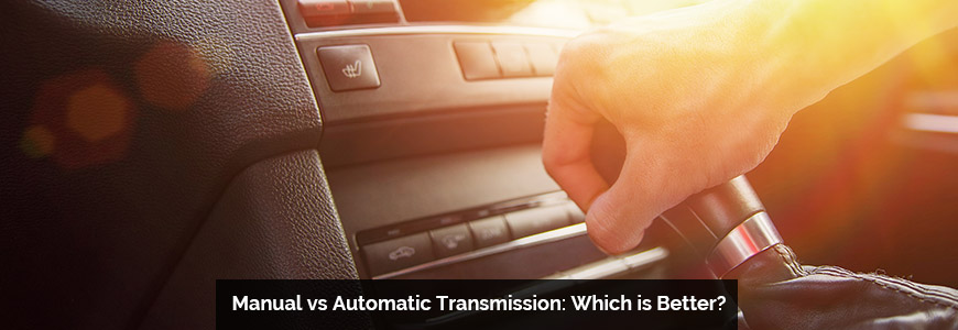advantage of manual transmission vs automatic