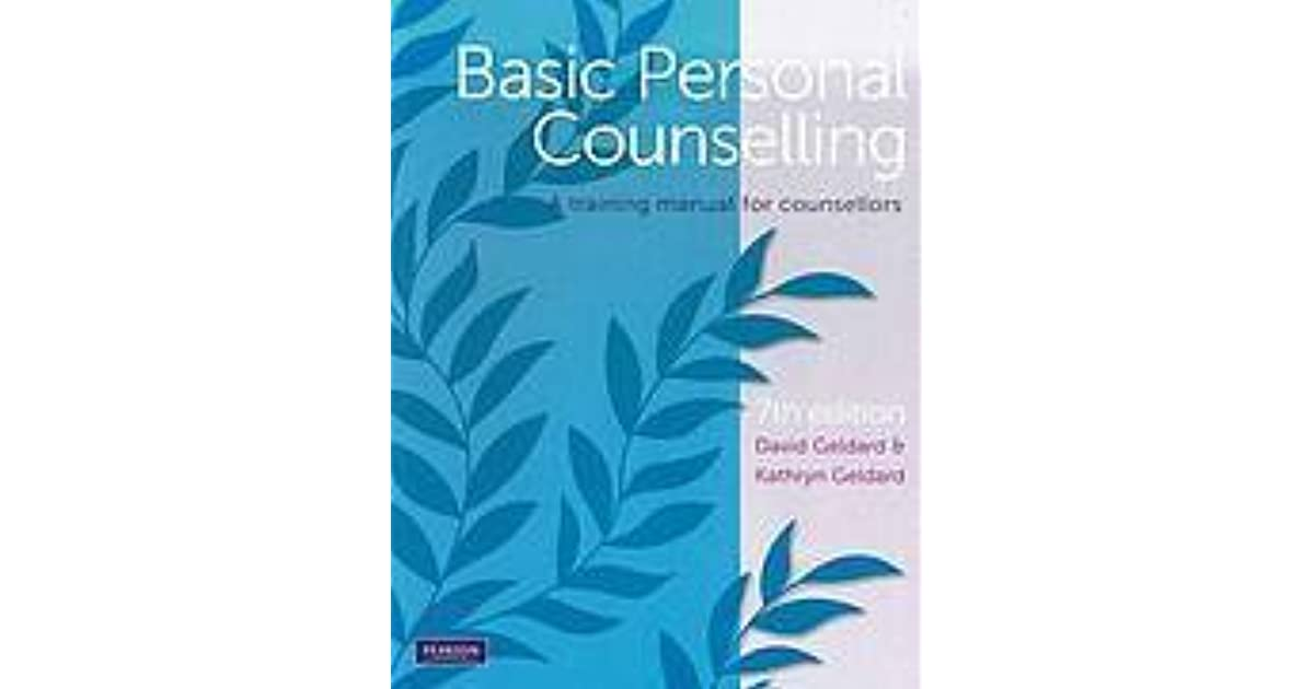 basic personal counselling a training manual for counsellors 8th edition