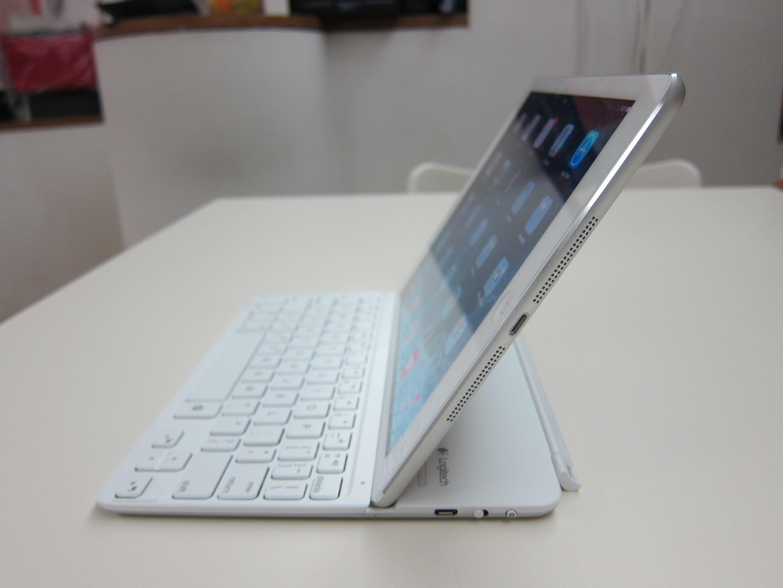 logitech ultrathin keyboard cover for ipad air manual