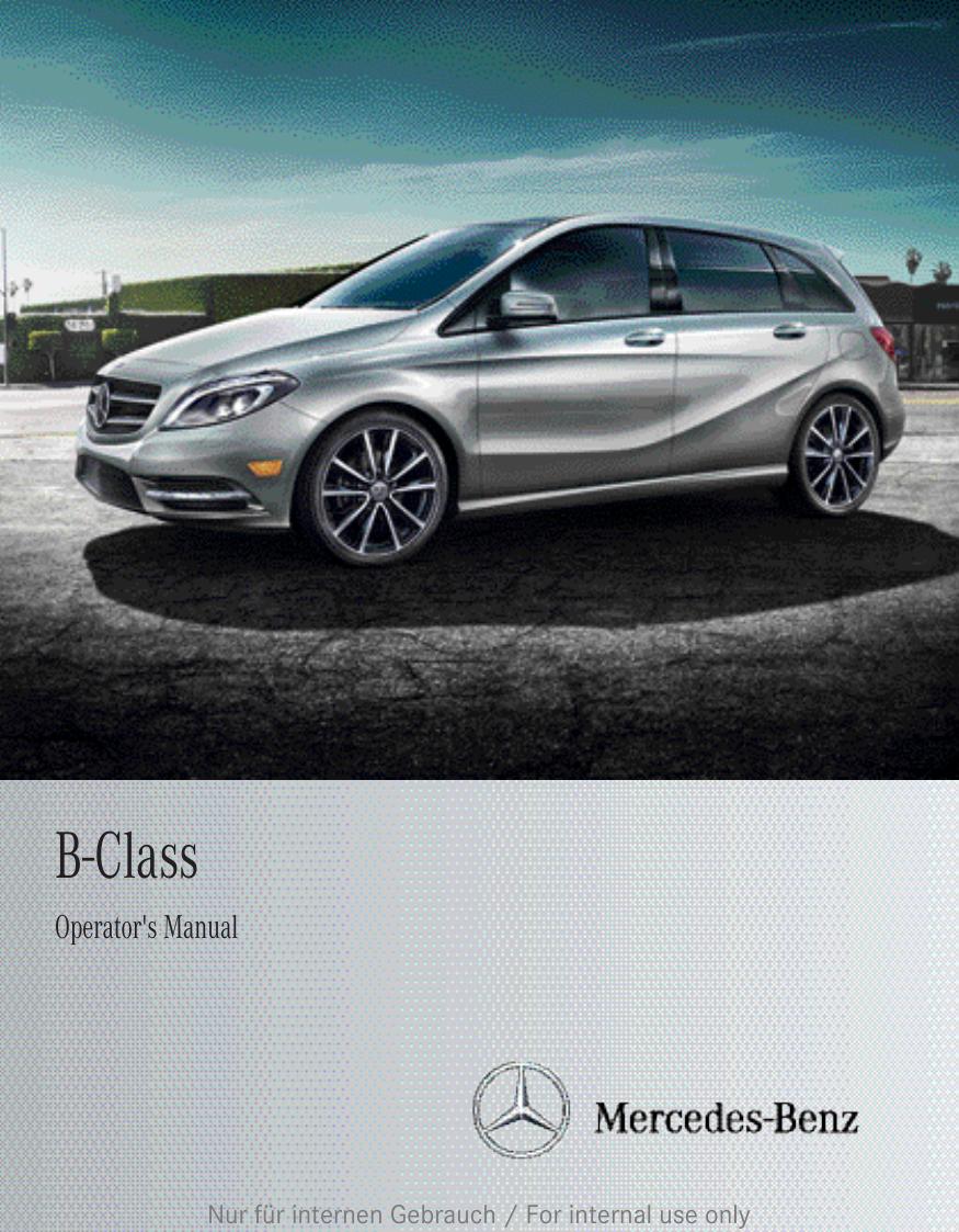 2012 mercedes c class owners manual pdf