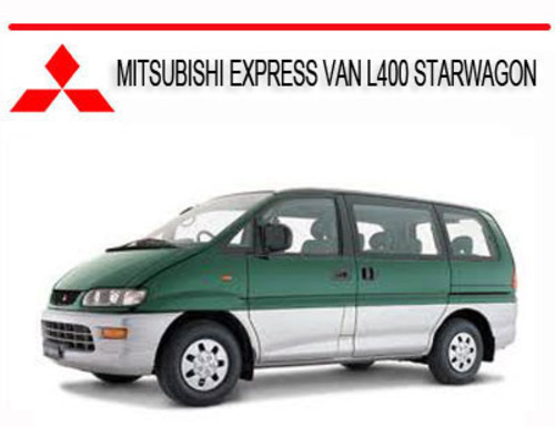 mitsubishi l300 van repair manual