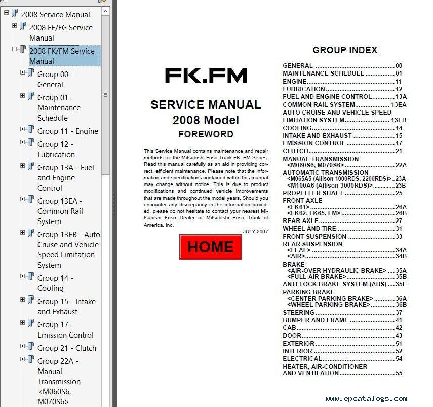 mitsubishi 380 service manual pdf
