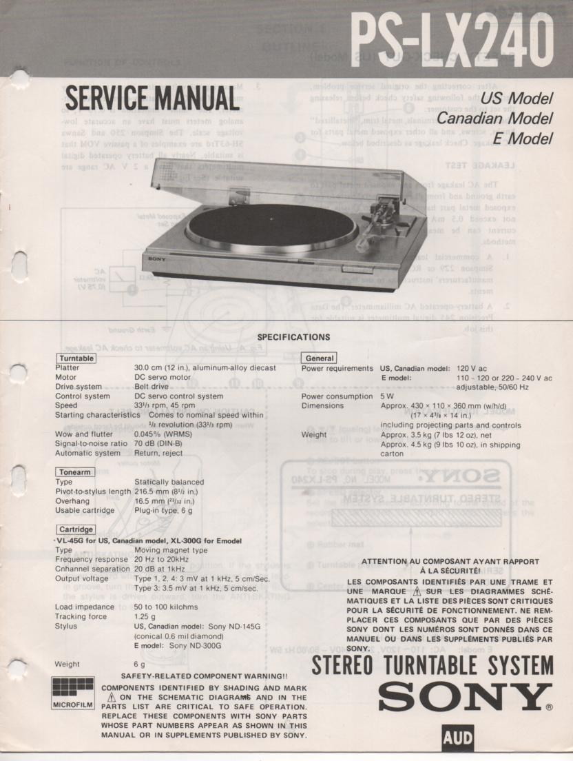 sony ps t1 owners manual
